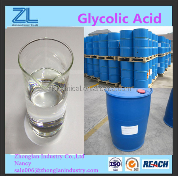 Hydroxyacetic acid 70% as Concrete Cleaners & Removers