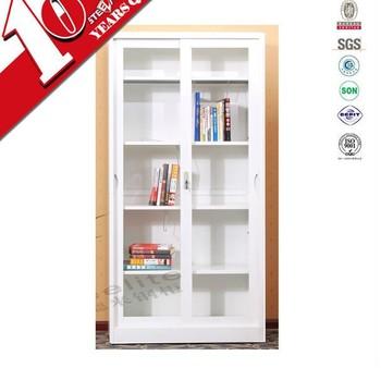 Grote Open Boekenkast Knock Down/witte Hoogglans Boekenkast Met ...