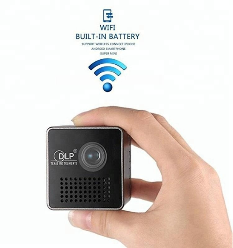 3d Mini Wifi Dlp Texas Instruments Battery Powered Led Multimedia Home  Theater Projector - Buy 3d Projector,Home Theater Projector,Dlp Projector