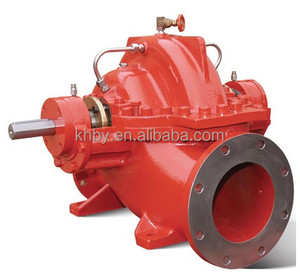 Electric drive wide capacity horizontal centrifugal split case mining water pump