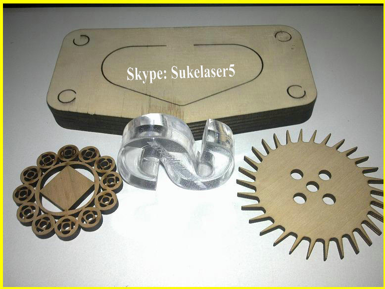 wood Laser cutting machine sample