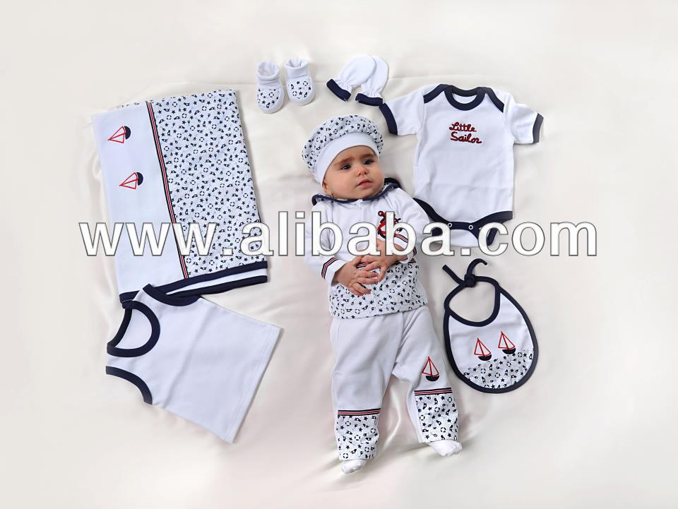 127ac76d3 مجموعة ملابس اطفال حديثي الولادة 11 قطعة، الصيف الرضع الملابس 2013 من أصل  تركي