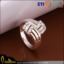 Europe Newest Trend Fashion Jewelry, Premium Silver 925 New Model Ring
