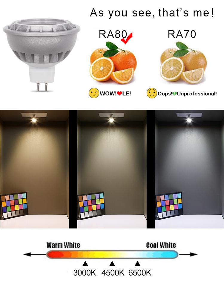 SHENPU умная лампа алюминиевая GU10 Downlight WIFI 0,5 Вт LED GU10 фитинг