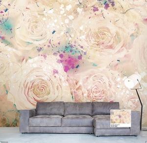 Elegant Rose Design Digital Printing 3D Wallpaper Philippines
