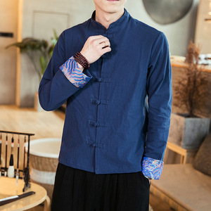 d857c0082 China Traditional Chinese Men Shirt, China Traditional Chinese Men Shirt  Manufacturers and Suppliers on Alibaba.com