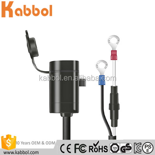 car accessories Motorbike Car USB Charger Cigarette Lighter power socket for Cellphones GPS Tablets and other devices