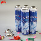 250ml Empty refillable aerosol spray can from lvhua factory with Metal Tin Can