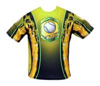 Short Sleeve light weight sublimation bowling Tshirt YXS-6XL Free Shipping