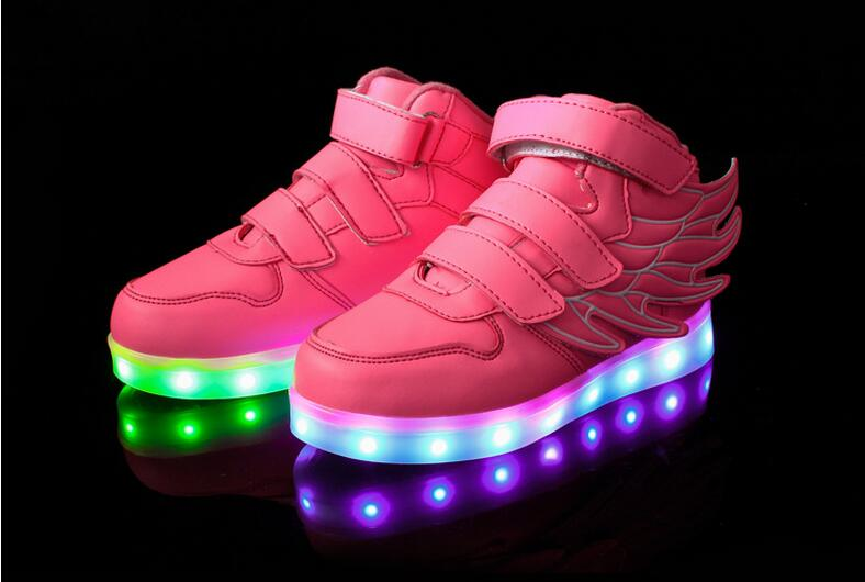 Hobibear LED night light running shoes top level dancer led shoes