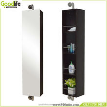china manufacturer 360 degree rotation bathroom mirror cabinets
