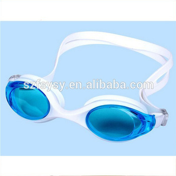 2017 Popular Aqua Sphere Swimming Usage PC Lenses Material Adult Silicone Swim Goggles