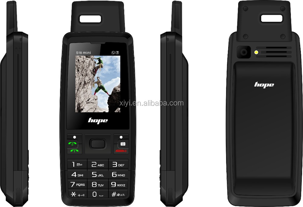 2016 Brand new best rugged mobile phone india with waterproof and shockproof as smart phone Hope S18mini
