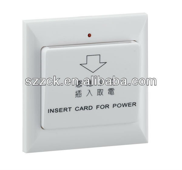 energy saver switch hotel card key switch electric power switch