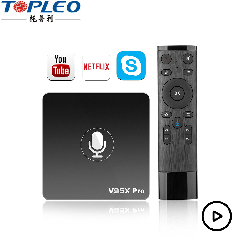 Google Certification 4k Ott Tv Video Playback Free Android Download Google  Play Store Tv Box V95x Pro - Buy Free Android Download Google Play Store Tv