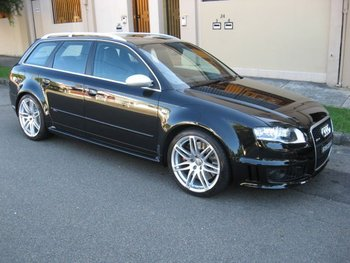 2007 Audi Rs4 B7 Avant Quattro Black 6 Speed Manual Wagon ...