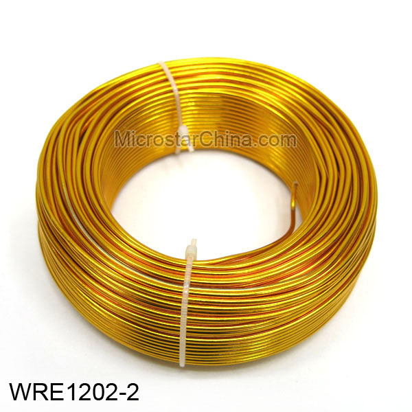 1.0mm High Quality Yellow Jewelry Aluminum Wire