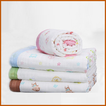 wholesale china supplier muslin swaddle blanket