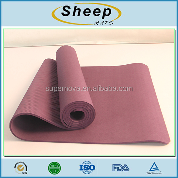 Eco friendly manufacturer custom china gym practice yoga mat