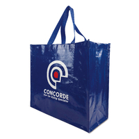 Custom Big Lamination PP Non Woven Tote Shopper Bags