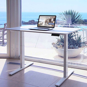Electric height adjustable standing office desks executive workstations