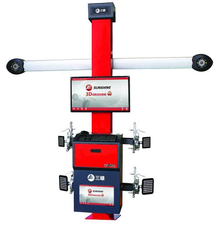 SP-G6L sunshine 3d máquina de alinhamento de roda de carro