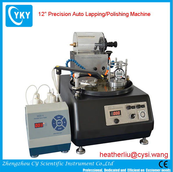 "CYKY 12"" Precision Auto Lapping/Polishing Machine with Two 4"" Work Stations"