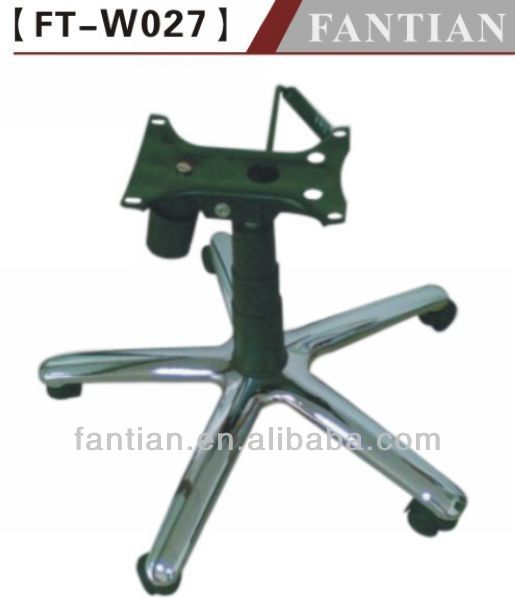silla giratoria de oficina de base de piezas de hardware-Patas de ...