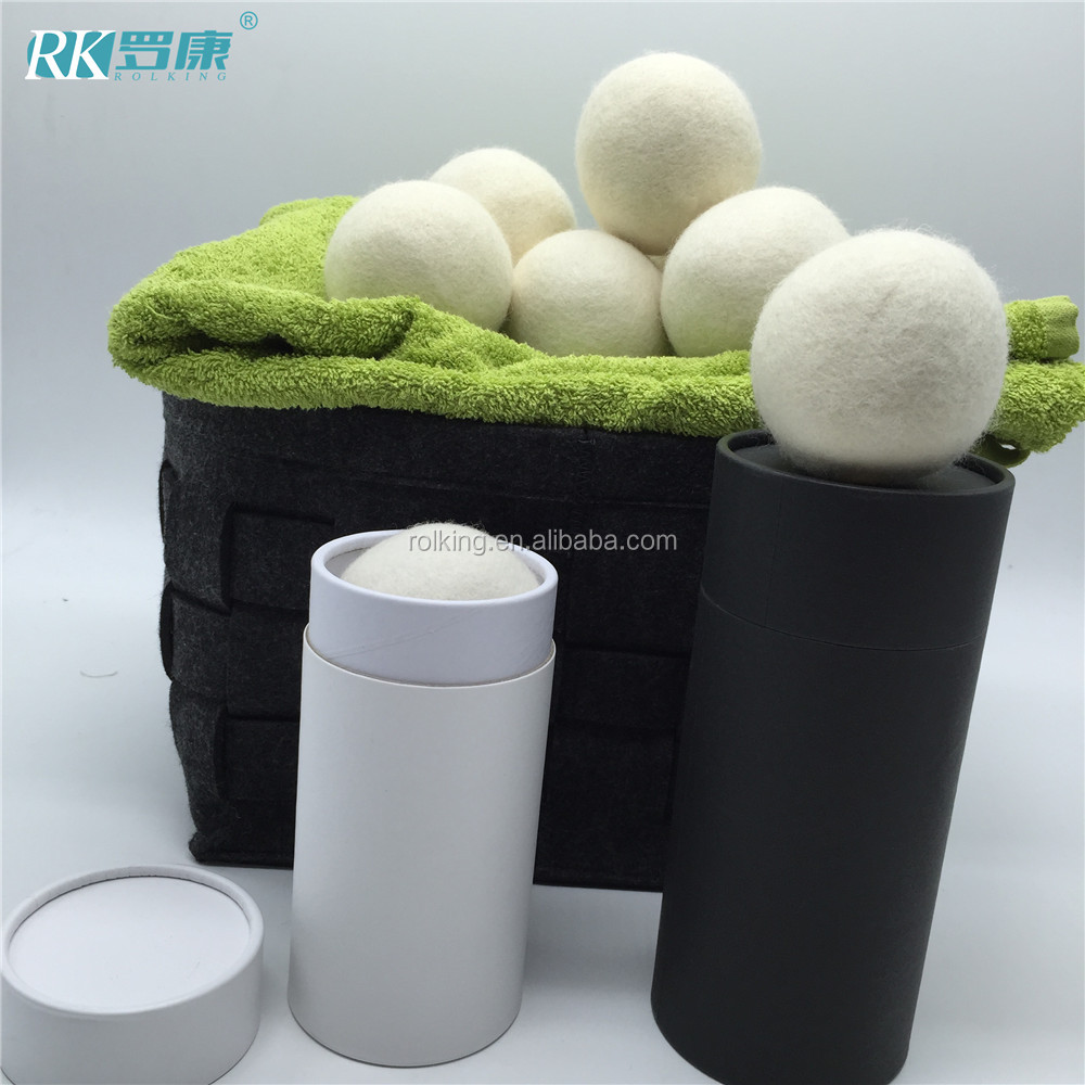 baby laundry use organical wool dryer balls XL