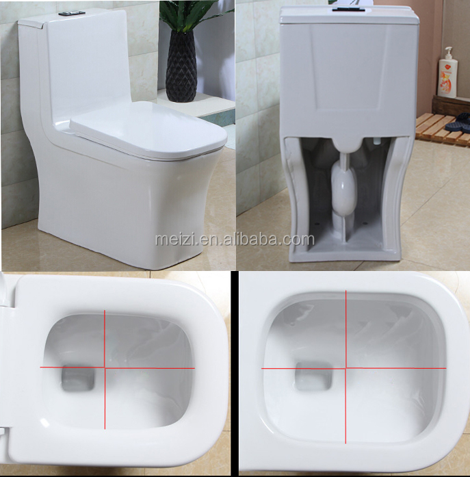 Chinese Factory Standard Bidet Toilet Size With Pp Toilet