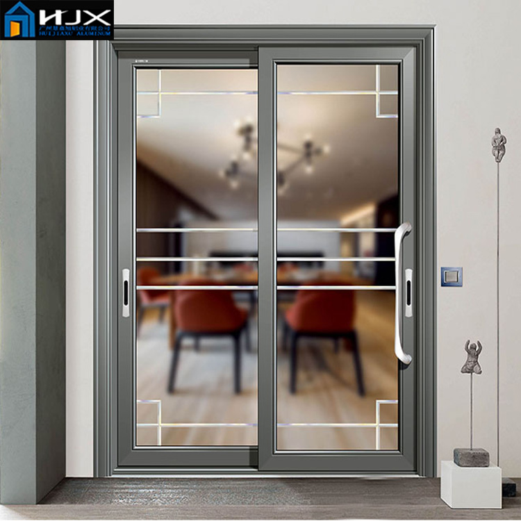 Aluminum Frame used commercial sliding glass door /aluminum window manufacturer