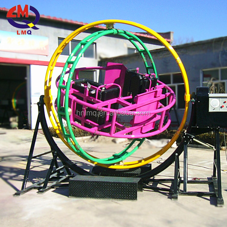 2017 Changda CE approved exciting games outdoor electronic <strong>human</strong> mechanical gyroscope