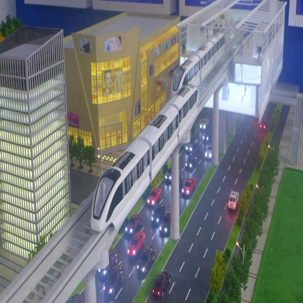 Professional Customized Construction Building Miniature Large Scale City 3d  Model For Plan And Development - Buy 3d Model City,Building Scale Model