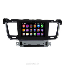 Android 7.1 AUTO audio FÜR PEUGEOT 508 2011 <span class=keywords><strong>2012</strong></span> 2013 2014 auto audio gps stereo head unit Multimedia navigation WIFI SWC BT