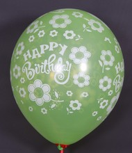 12 inch 2.8g advertising large round anniversary cheap latex printed balloons