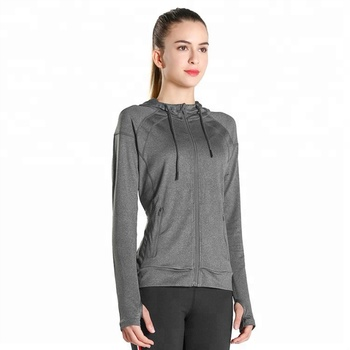 gym wear  Comfortable women hoodies sport jacket for women