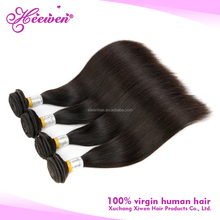 Beauty products super soft high quality virgin peruvian straight 100 human hair