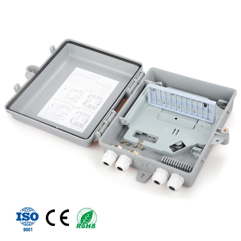Precio barato 16F core al aire libre FTTH fibra óptica divisor caja de distribución para el mercado indio