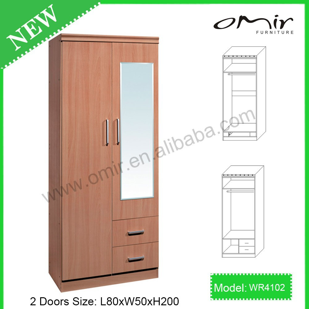 laminated plywood clothes pvc bedroom wardrobe designs