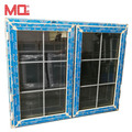 pvc casement window insulated window glass