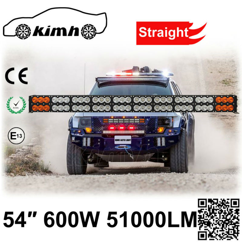 New Products Truck Offroad Amber Roof Car Led Light Bar 600w - Buy ...