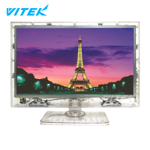 "13 inch Hot Sale Wholesale LCD LED Clear TV,Vitek 13.3"" Clear Tech Lcd Led Prison Transparent TV"
