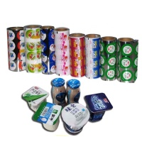 pe laminated breathable plastic film roll for food packaging