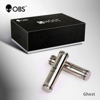 2015 OBS New unique design full mechanical mod, superior quality 18650mah GHOST MOD with safety protection