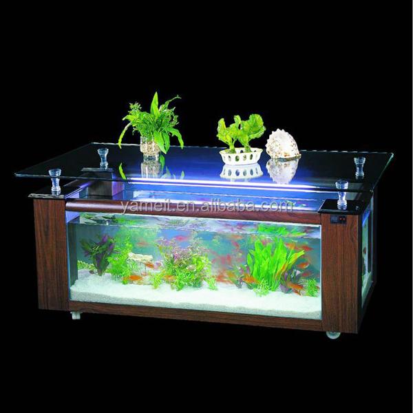 OEMODM china lieferant couchtisch aquarium