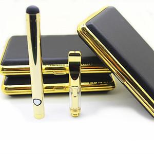 Custom Logo Electronic Cigarette Gold White Label Vaporizer Pen Amazon Cbd  Vape Pen