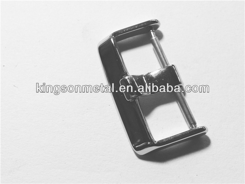 Swiss watch leather strap buckle 20mm