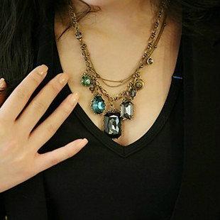 Океан ювелирных старинные элемент жемчужина ожерелья подвески X081