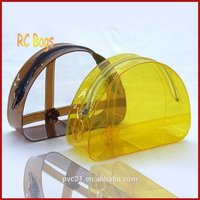 Clear Pvc Plastic Zipper Bag For Makeup with REACH