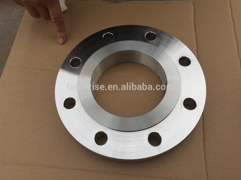 carbon steel a105 a350 lf2 b16.5 pn16 pn10 forged plate flanges monel alloy astm asme b565 400 500 pn16 slip plate flange
